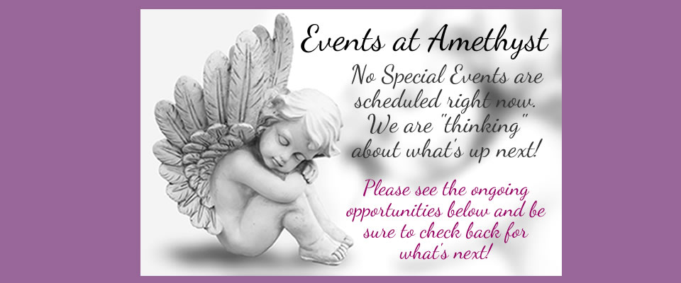 Events at Amethyst